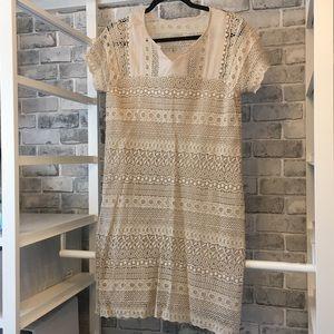 Garnet Hill Embroidered Dress